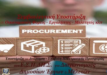 Δημόσιες Συμβάσεις – Ε.Σ.Η.ΔΗ.Σ. Μελ.Έργων Οικον.Φορέων